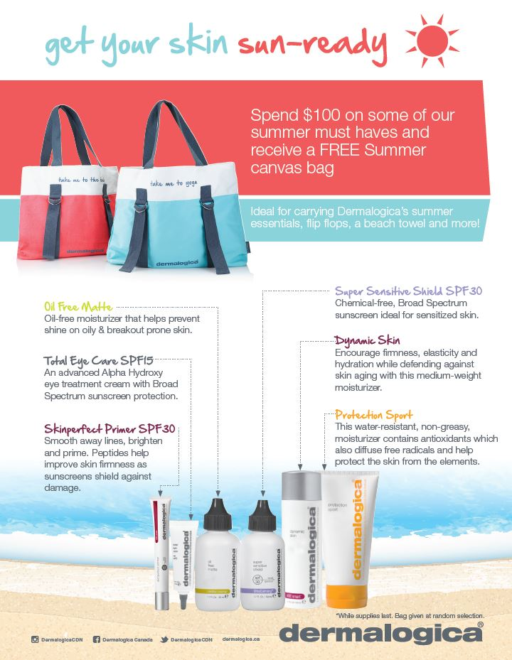Free Gift with Dermalogica Purchase at Eccotique | Uptown